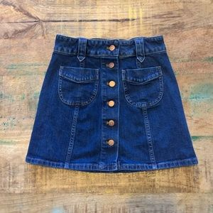 Madewell | Denim Skirt, 00